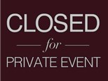 Private Event- No Class (April 15th)
