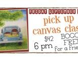 September 21st Pick up Truck Canvas Class