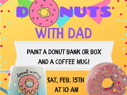 Feb. 15th Donuts with Dad