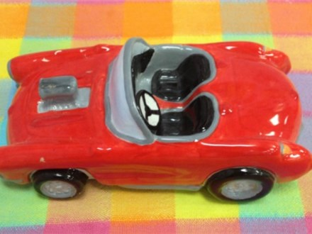 This cool race car was made by one of our customers last year.  Our transportation themed items are very popular!