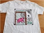 NEW! Tshirt/Pig Symmetry Math Gamers