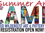 Summer Art Camp Week 8 FULL-DAY 9am-3pm JULY 31 - AUGUST 4 at Three Legged Wildebeest Art Studio