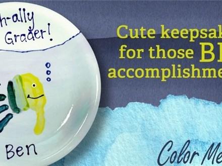 O-Fish-Ally a 1st Grader! Handprint Workshop - August 7