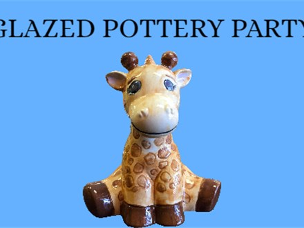 Glazed Pottery Painting Party