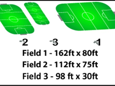 [Member] Field Rental - Field #1 (162ft x 80ft)