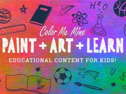 """Paint-Art-Learn - """"Jackson Pollock"""" Sept.16-3020"""