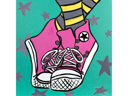 Canvas Class for Kids! March 26th
