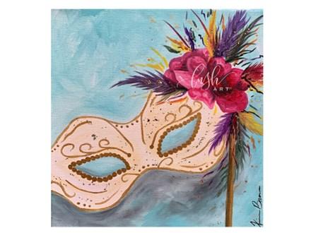 Mardi Gras Mask Paint Class