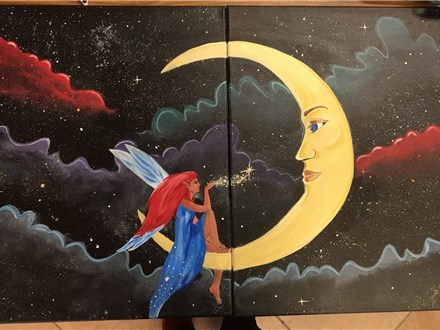 Couple's Canvas - Pixie Love - 08.25.18