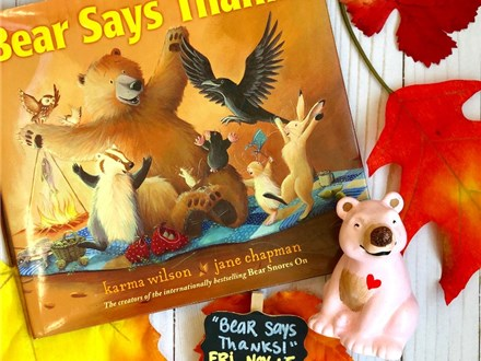 Pre-K Story Time: Bear Says, Thanks!