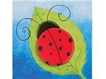 Summer Kids' Canvas Class! Lady Bug! 8/3/18