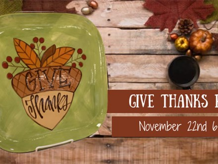 """""""Give Thanks"""" Class"""