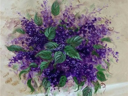 Painting Class with Tabitha 8/2