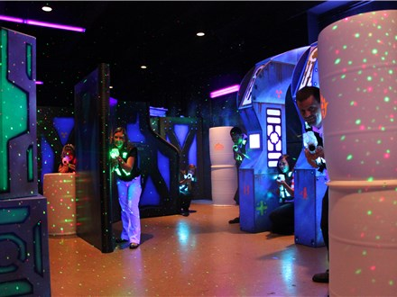 Deluxe Laser Tag Party Package