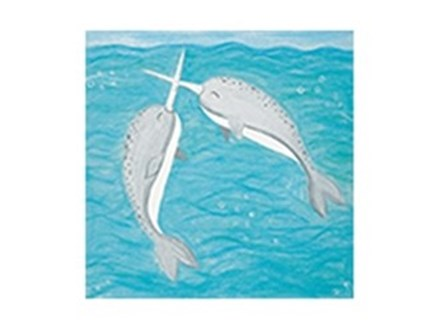 Narwhal Ceramic & Canvas To Go Kit!