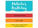 Melinda's Birthday Party - Private Event - July 29