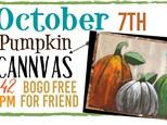 Oct. 7th Pumpkin Class