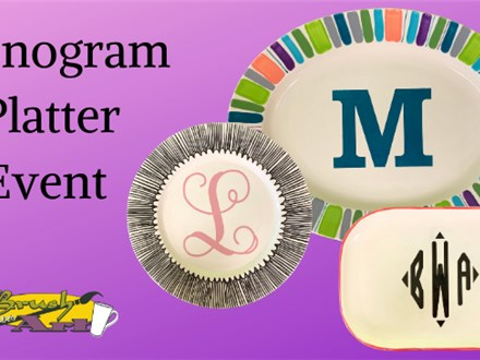 Monogram Platter Event