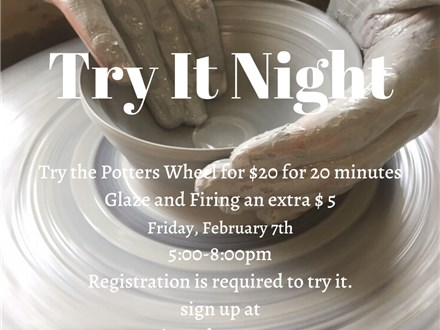 Try The Potters Wheel Night