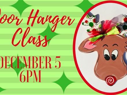 Reindeer Door Hanger Class