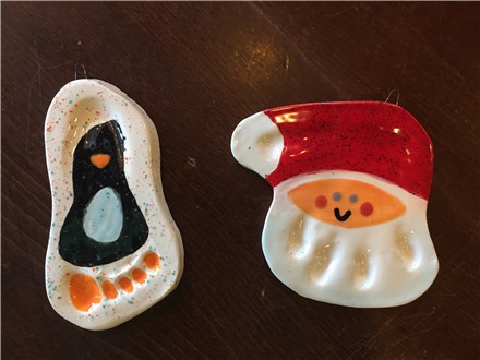 Clay Ornament Workshop! Thursday, December 1st 6-8p