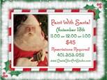 Paint With Santa!!   Saturday, November 13