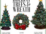 Holiday Trees and Wreath