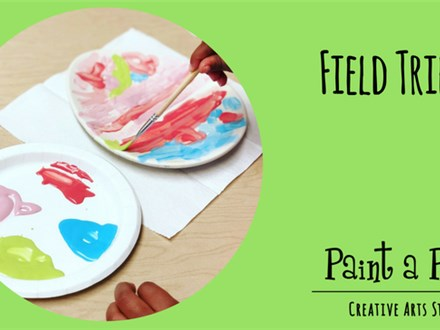 Field Trip-Paint a Piece is coming to you!