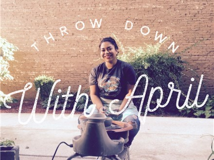 Throw Down With April:  Feel the Wheel!