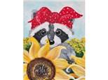 Raccoon Paint Class - WR