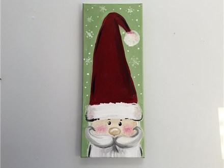 Secret Santa (adult) Canvas Class