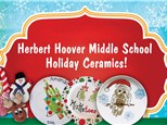 Herbert Hoover Middle School Holiday Ceramics!