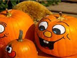 Pumpkin and Face Painting at the studio! Saturday, October 14th 2p-5p