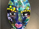 Camp! Make a Fused Glass Face 7/30-8/3 1pm