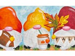 Fall Gnomes Paint Class - WR