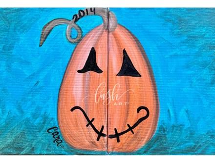 Kid's Pumpkin Paint Class - PERRY