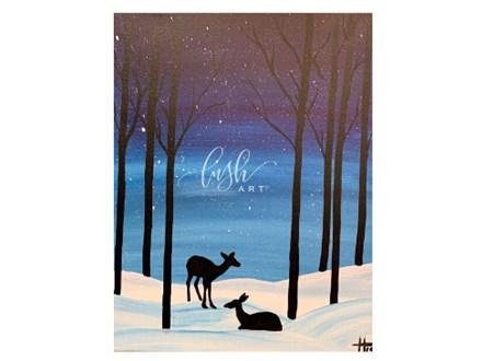 Deer Paint Class