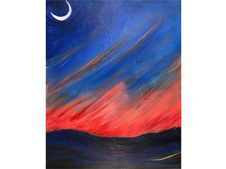 Paint & Sip - Red Sky Tonight - Sept. 29 - 7:30pm