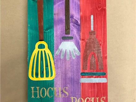Board Art - Hocus Pocus - Evening Session - 10.18.18