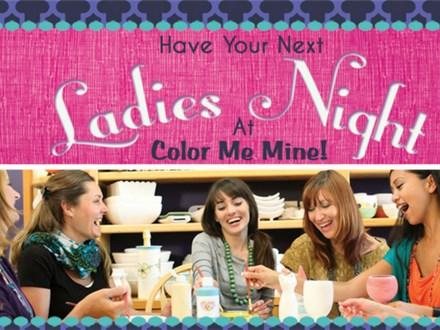 Ladies Night - $5 Studio Fee