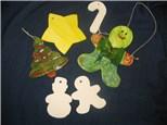 St. Cloud Community Ed-Family Class-Clay Ornaments