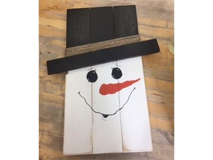 DDD Board Art Snowman