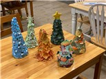 Seasonal Hand Built Clay Tree