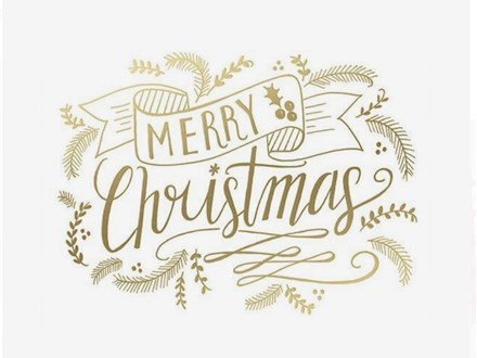 Christmas Hand lettering Class