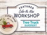 Christmas Tree Truck Handprint Workshop - November 30th