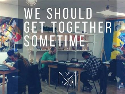 We should get together sometime