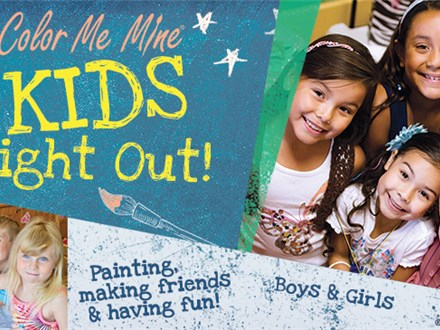January 17 Kids Night Out Color Me Mine Bayshore