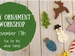 Clay Ornament Workshop