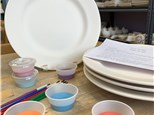 Pottery to Go Family Pack of Plates