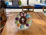Bunny Egg Plate Monthly Masterpiece
